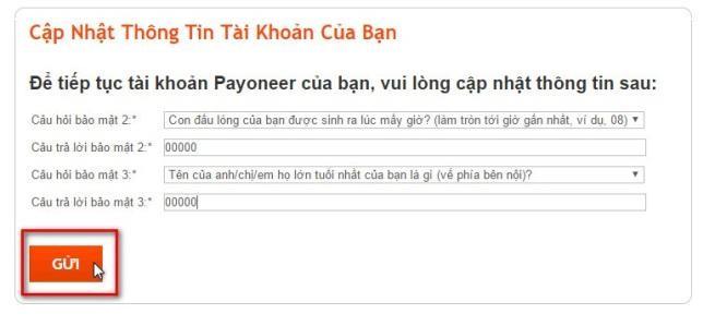 Cách đăng ký tài khoản Payoneer